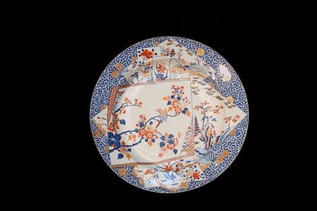 chinese export porcelain imari Charger