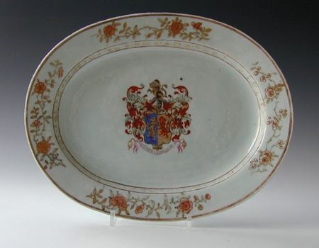 ARMORIAL MEAT DISH