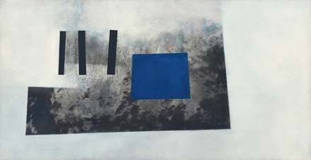 Blue in Black on White, 1965