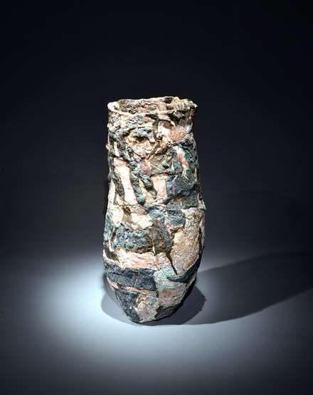 Tall Vessel Form, 1990