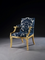 The Earl of Hardwicke's Gilded Armchairs Attributed to John Linnell