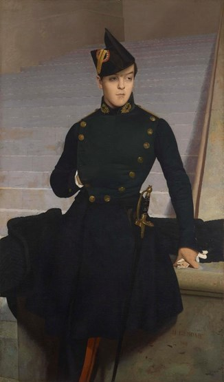 Portrait of Armand Gérôme, brother of the artist