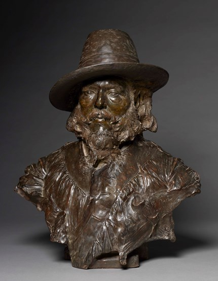Bust of Jules Breton