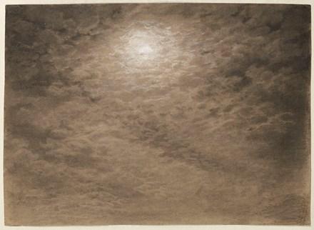 Moonlit Cloud Studies, a pair