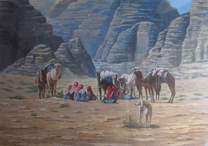 Bedouin at Rest