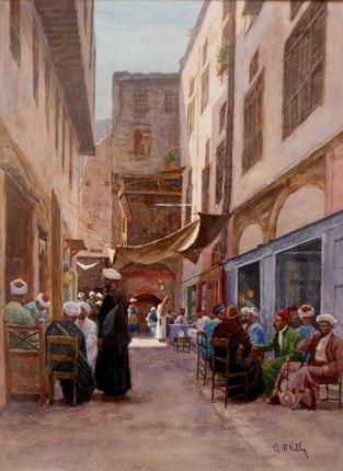 A Nargileh Cafe, Cairo