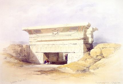 Gateway at Dendera