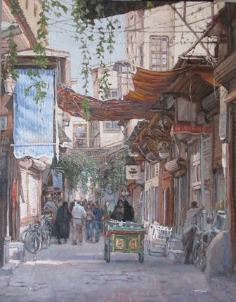 Canopies and Sunlight, Damascus