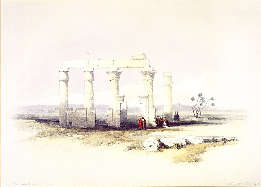 Ruins of the Temple of Madamoud, Near Thebes