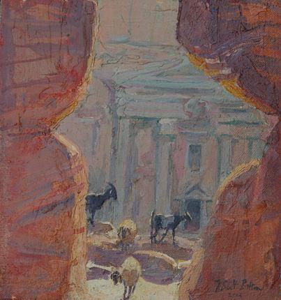 Roman Soldiers' Tomb, Petra
