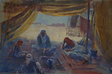 Bedouin Tent, Wadi Rum