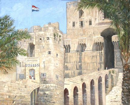 Entrance to the Citadel, Aleppo