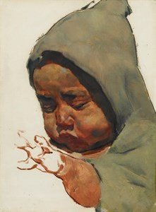 Study of a Moroccan Baby