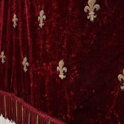 Tenture venant probablement du projet de sacre de Louis XVIII ou du sacre de Charles X
