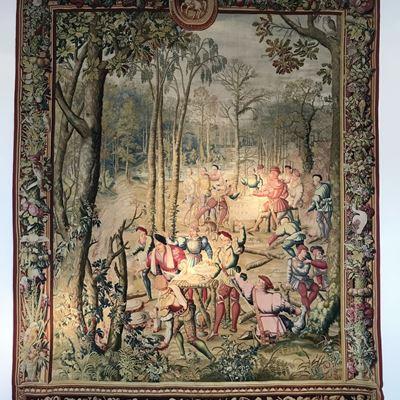 Tapisserie de la manufacture royale des Gobelins commandée par Louis XIV