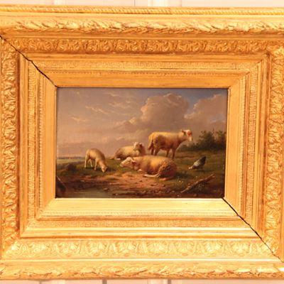 F. Vandeverdonck – Paysage aux moutons