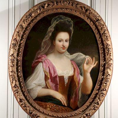 Portrait de Johanna Lourdet par Bon Boullogne, 1687