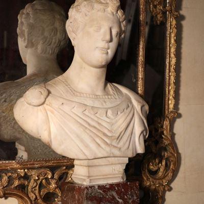 Buste représentant un jeune empereur romain