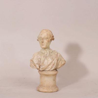 Petit buste en marbre