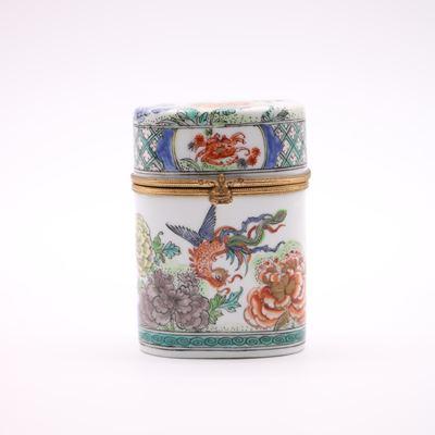 Boîte en porcelaine de Chine du Général Lérivint