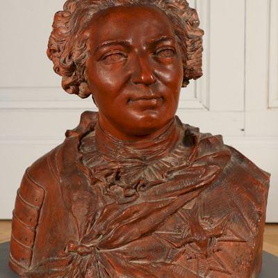 Buste du roi de France Louis XV