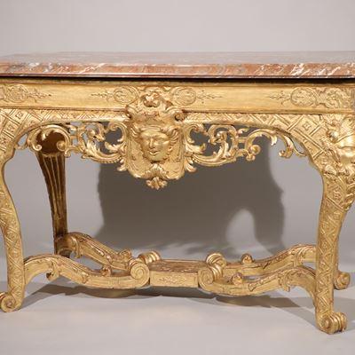Une exceptionnelle console d'époque Louis XIV