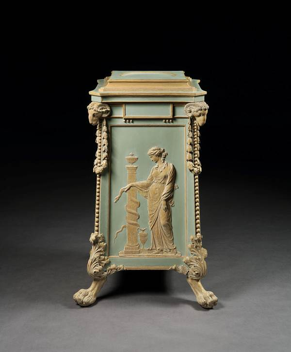 THE NEWBY HALL PEDESTAL FROM THE ETRUSCAN DINING ROOM SUITE