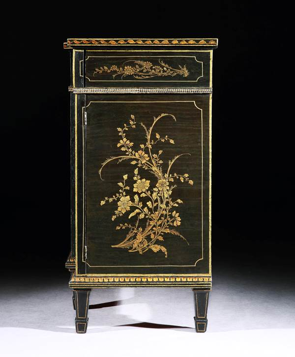 THE HAREWOOD HOUSE LACQUER CABINET