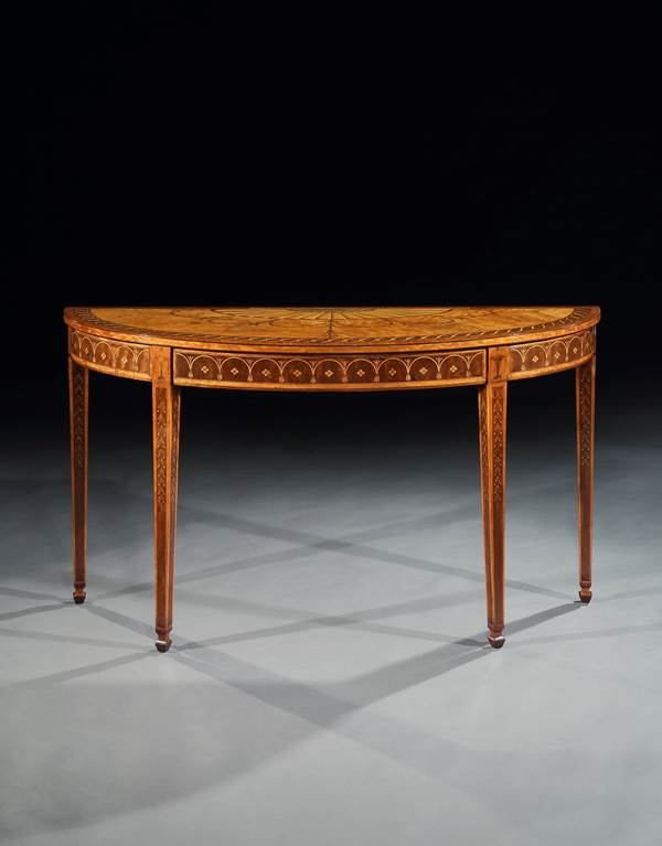 A Pair Of George Iii Side Tables Attributed To Mayhew And Ince Ronald Phillips Fine Antique English Furniture