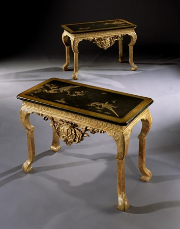 THE DUKE OF NEWCASTLE SIDE TABLES BY JAMES MOORE