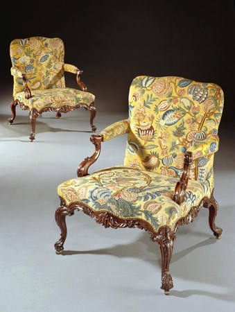 THE ECCLESHALL CASTLE CHAIRS