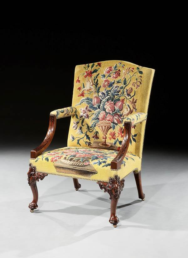 THE UNTERMYER LIBRARY ARMCHAIRS