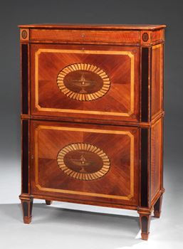 THE EARSHAM HALL SECRETAIRE A ABBATANT
