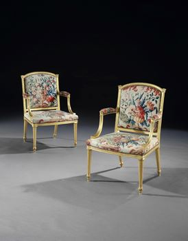 THE APPULDURCOMBE ARMCHAIRS