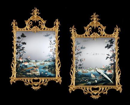 THE H. J. JOEL MIRROR PAINTINGS