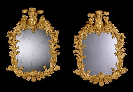 THE ELVASTON CASTLE MIRRORS