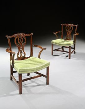 THE ST. GILES HOUSE LIBRARY CHAIRS
