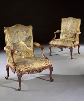 THE GLEMHAM HALL GAINSBOROUGH ARMCHAIRS