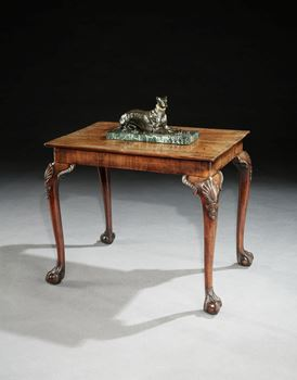 A LOUIS XVIII BRONZE GREYHOUND ATTRIBUTED TO CHRISTOPHE FRATIN