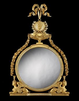 THE HAREWOOD HOUSE MIRROR