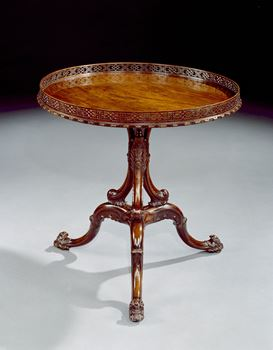 THE ST. GILES HOUSE TRIPOD TABLE.