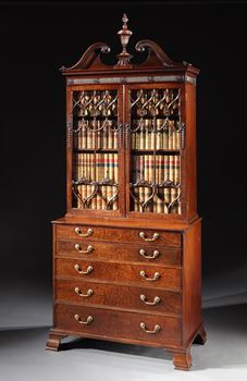 THE SUTTON HALL SECRÉTAIRE BOOKCASE