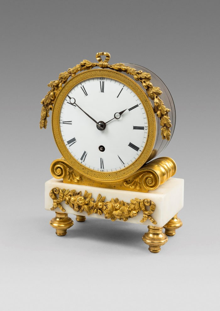 Small Gilt and Ormolu Timepiece by Baetens & Co, Soho. Raffety Ltd.