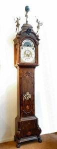 An unusual 18th century Dutch musical longcase clock by Allin Walker. Raffety Ltd.