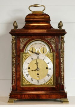 Musical Bracket Clock by Robert Henderson, circa 1770. Raffety Ltd.