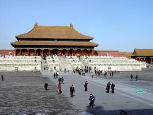 The Forbidden City, Beijing.