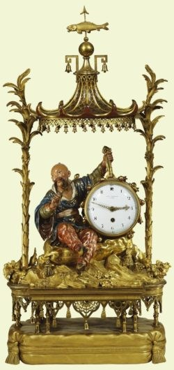 The Drummer Boy Clock. Copyright The Royal Collection.