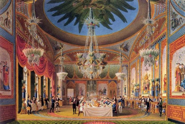 The Banqueting Room at Brighton Pavillion.