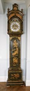 Green Lacquered Longcase Clock by John Monkhouse, London. Circa 1765. Raffety Ltd.