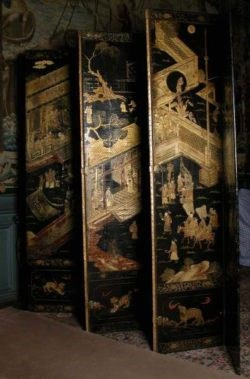 Lacquer Screen, Late 17th century. Copyright National Trust Collections.